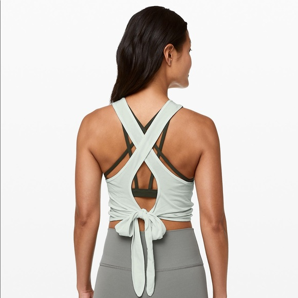 lululemon athletica Tops - Lululemon Turn To Tie Tank